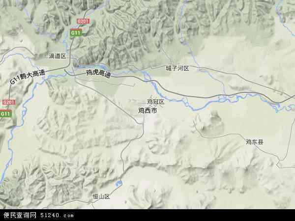 鸡西市地图 鸡西市卫星地图 鸡西市高清航拍地图 鸡西市高清卫星地图