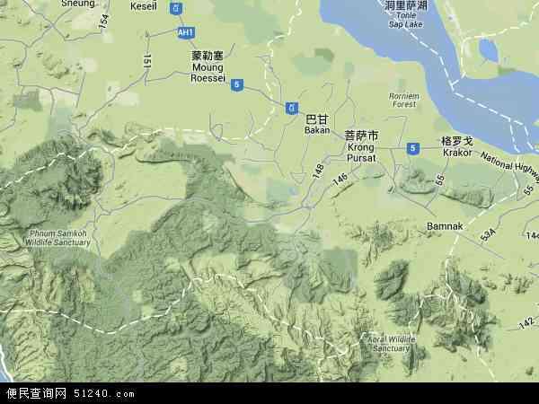 萨卫星地图高清版