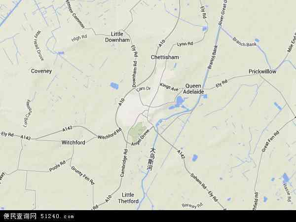 伊利地图 - 伊利卫星地图