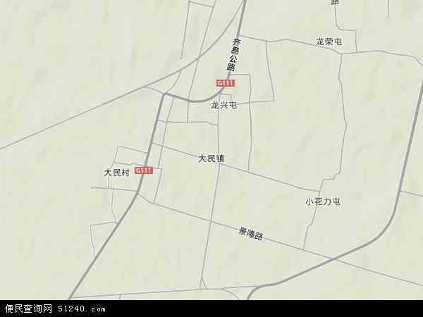 齐齐哈尔龙沙区地图 图片合集