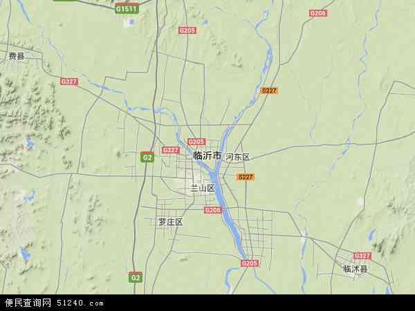 烟台塔山公园地图