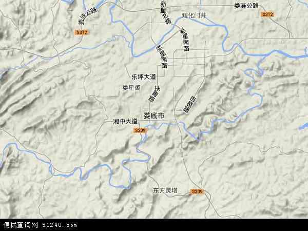娄底城市人口-娄底市地图 娄底市卫星地图 娄底市高清航拍地图 娄底市高清卫星地图