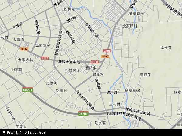 本站收录有:最新簇桥地图图片