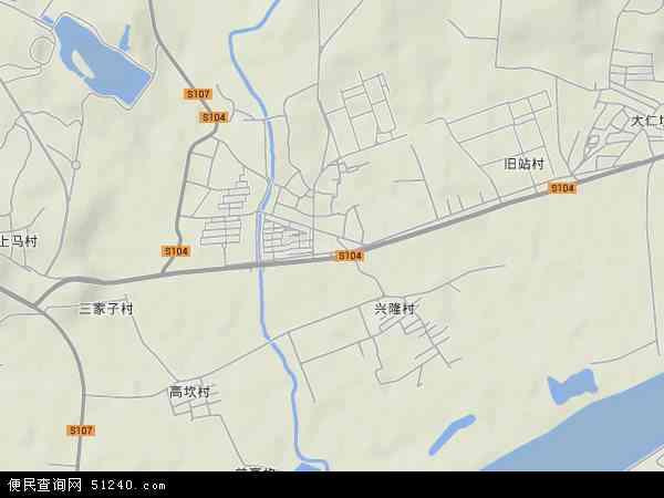 中国辽宁省沈阳市东陵区高坎地图(卫星地图)