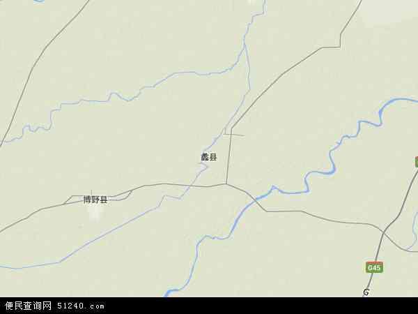 蠡县地形图 - 蠡县地形图高清版 - 2016年蠡县地形图