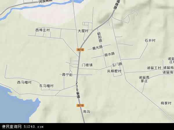 山东省烟台市福山区地图有没有啊