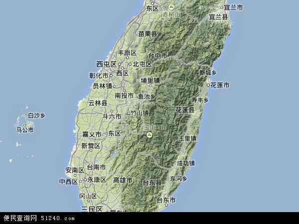 台湾 地图 高清 台湾地图全图大图