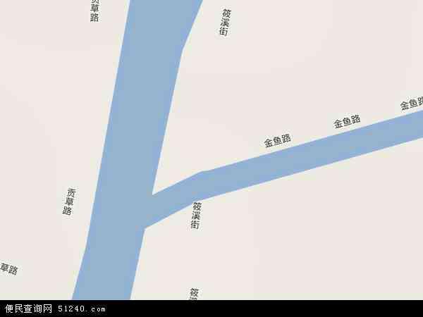中国四川省自贡市贡井区筱溪地图(卫星地图)