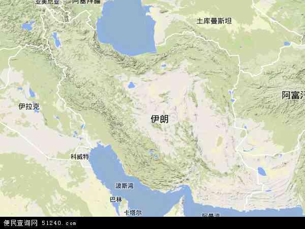 伊朗卫星地图_伊朗卫星图片