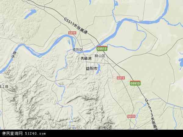 益阳市地图 益阳市卫星地图 益阳市高清航拍地图 益阳市高清卫星地图