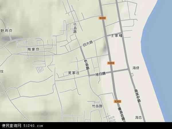 竹岛高清卫星地图 竹岛2018年卫星地图 中国山东省威海市环翠区竹