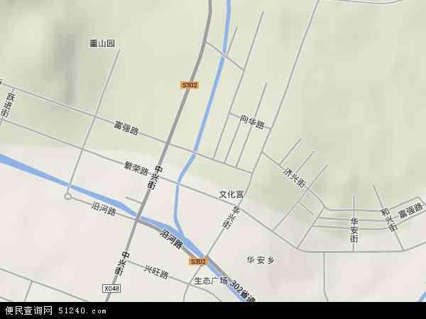 中国黑龙江省齐齐哈尔市碾子山区富强地图(卫星地图)
