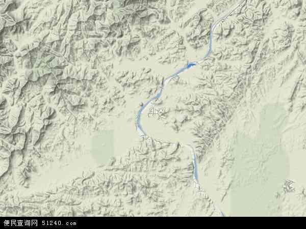 扶余郡地图 - 扶余郡卫星地图