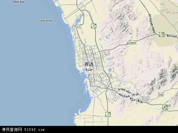 达卫星地图高清版