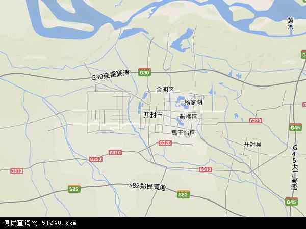 开封市地图 开封市卫星地图 开封市高清航拍地图 开封市高清卫星地图