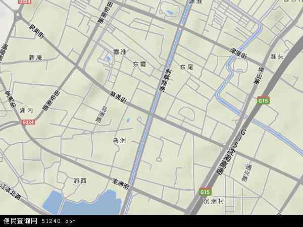 中国福建省泉州市丰泽区泉秀地图(卫星地图)