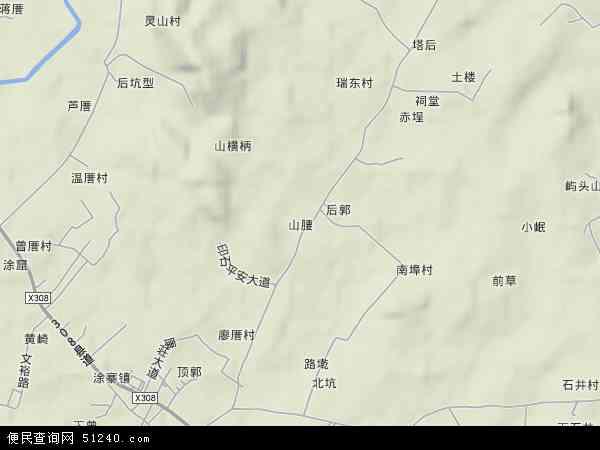 中国 福建省 泉州市 泉港区 山腰  本站收录有:2018山腰卫星地图高清