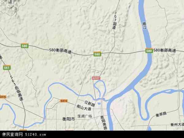 石鼓区高清卫星地图 石鼓区2017年卫星地图 中国湖南省衡阳市石鼓