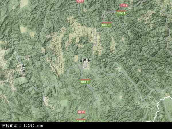 洱市各个县最新人口数,和景谷县各个乡镇最新人口数