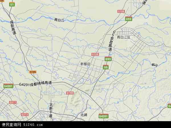 四川省成都市地图_新都区地图 - 新都区卫星地图 - 新都区高清航拍地图