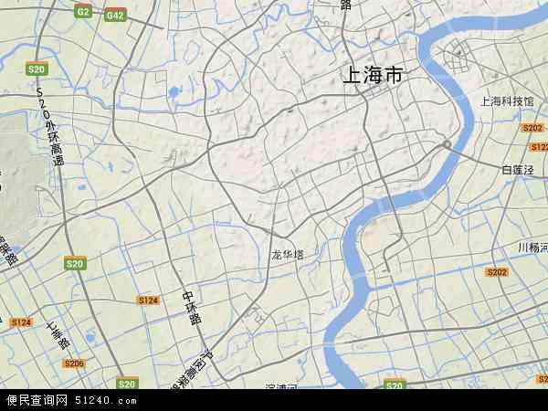 徐汇区地图 - 徐汇区卫星地图