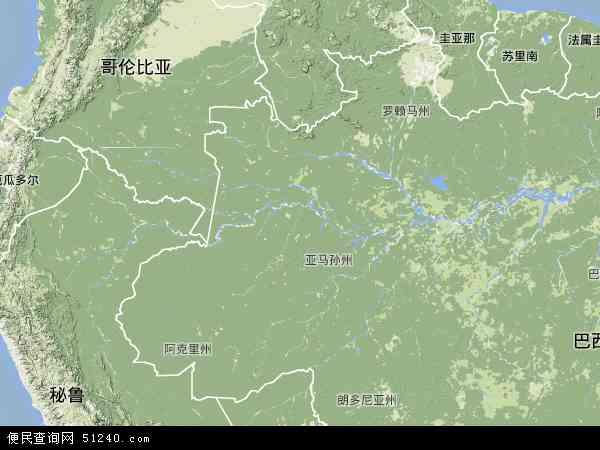亚马孙电子地图,2013亚马孙地图