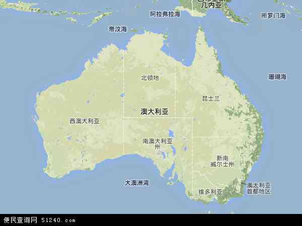 澳大利亚航拍照片,2017澳大利亚卫星地图,澳大利亚北斗卫星地图2018
