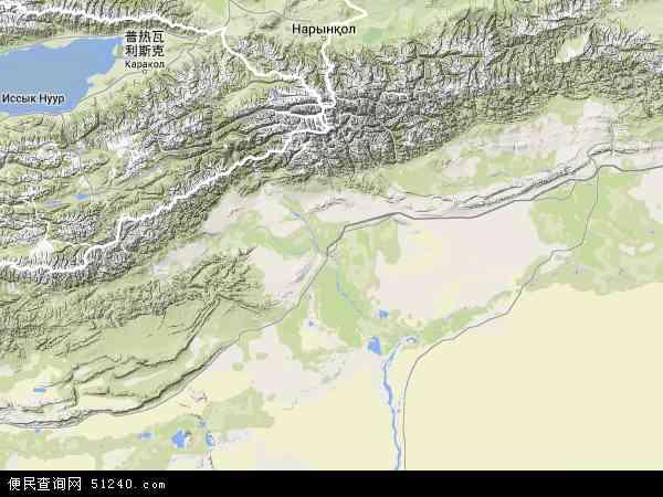 2015阿克苏卫星地图高清版