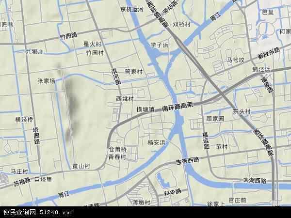 横塘航拍照片,2014横塘卫星地图