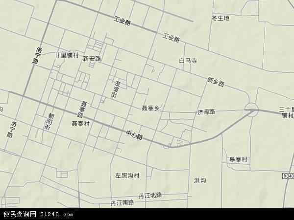河南省上街区地�_济源路地图-济源路卫星地图-济源路高清航拍地图