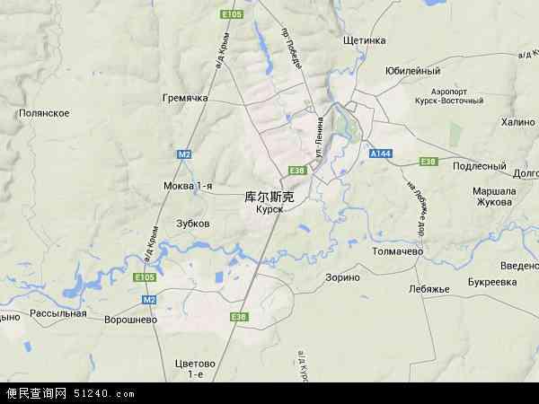 库尔斯克航拍照片,2015库尔斯克卫星地图,库尔斯克北斗卫星地图2016