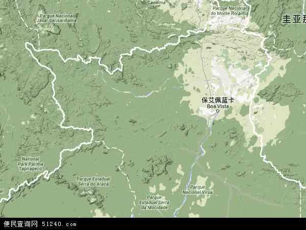 罗赖马电子地图,2014罗赖马地图