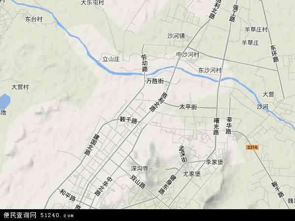 本站收录有:最新立山区地图