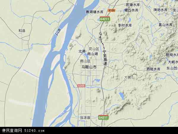 黄鹤楼 手绘地图