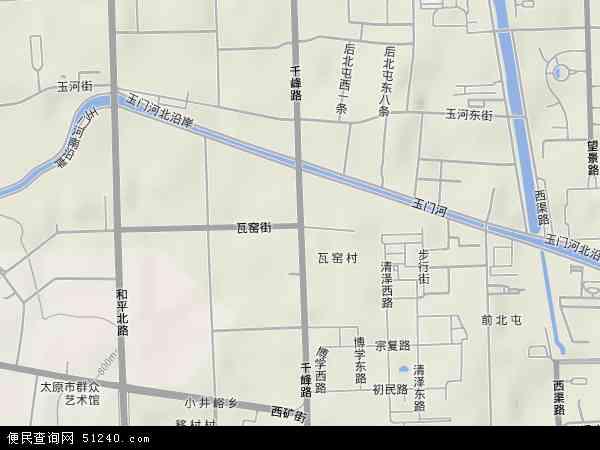 山西卫星地图
