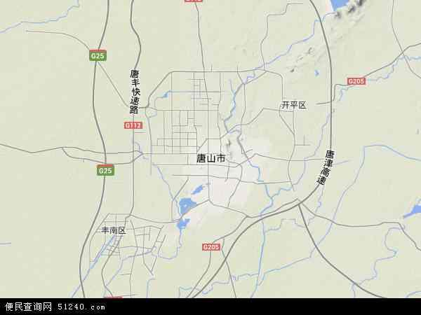 唐山菩提岛地图
