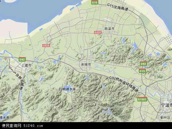 余姚市地图 余姚市卫星地图 余姚市高清航拍地图 余姚市高清卫星地图 图片