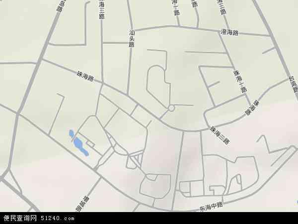 珠海路地图 - 珠海路卫星地图