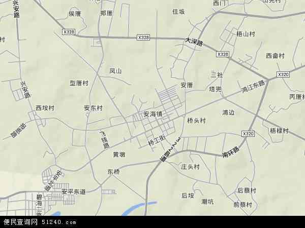 福建省 泉州市 晋江市 安海镇  本站收录有:2017安海镇卫星地图高清版