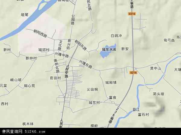 博白镇地图 - 博白镇卫星地图