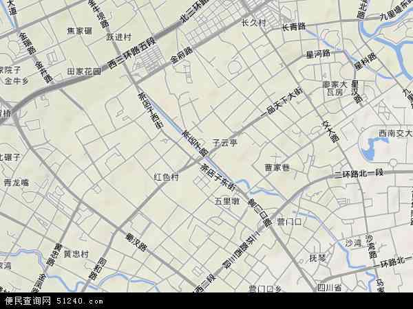 中国 四川省 成都市 金牛区 茶店子  本站收录有:2017茶店子卫星地图