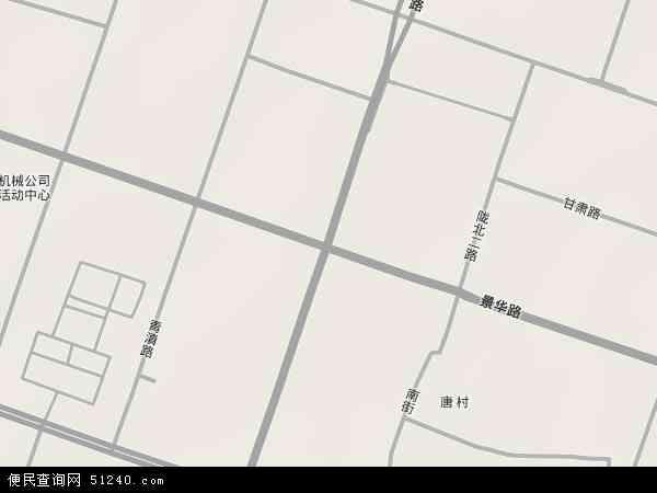 中国河南省洛阳市涧西区长安路地图(卫星地图)