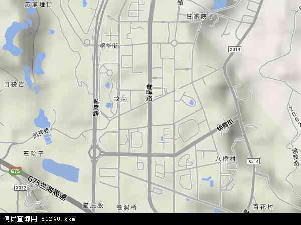 春晖路地图 - 春晖路卫星地图