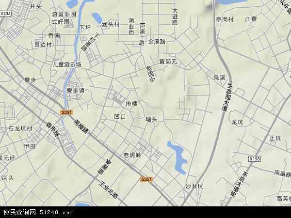 凫山村地图 - 凫山村卫星地图