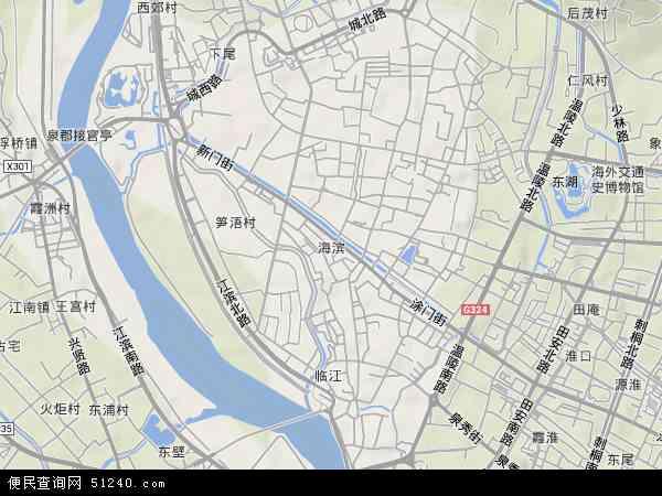 中国 福建省 泉州市 鲤城区 海滨  本站收录有:2018海滨卫星地图高清