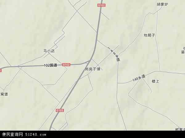 献县刘付庄地图