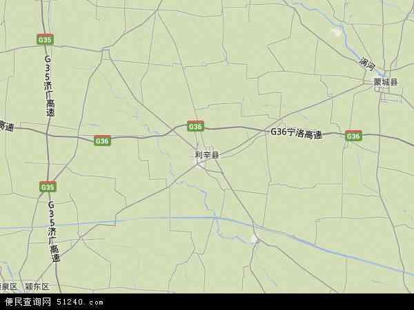 利辛县地图 利辛县卫星地图 利辛县高清航拍地图 利辛县高清卫星地图