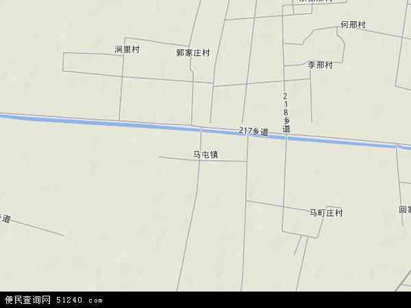 中国河北省衡水市枣强县马屯镇地图(卫星地图)