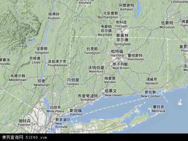 米德尔顿高清卫星航拍地图