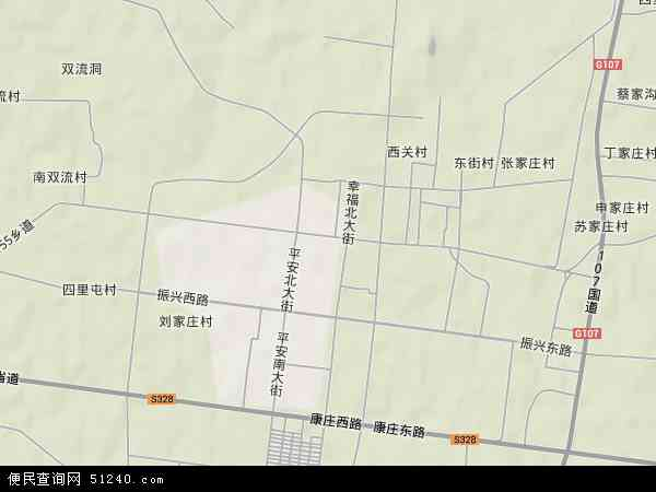 内丘最新的公路规划图